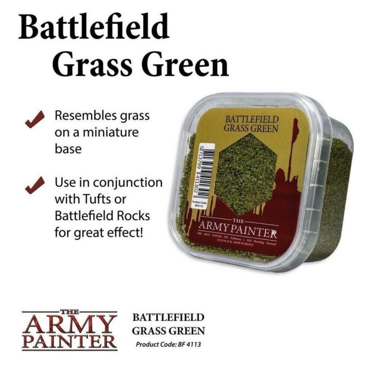 ARMY PAINTER: Grass Green Flock 150 ml