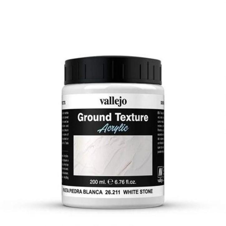 Stone Effects: White Stone Paste (200ml)