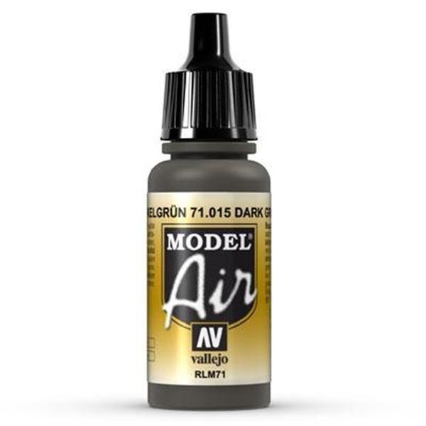 Vallejo Model Air: 015 Olive Grey 17ml  (71015)