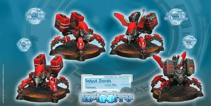 INFINITY: Salyut Zonds (EVO Repeater, Combi Rifle)