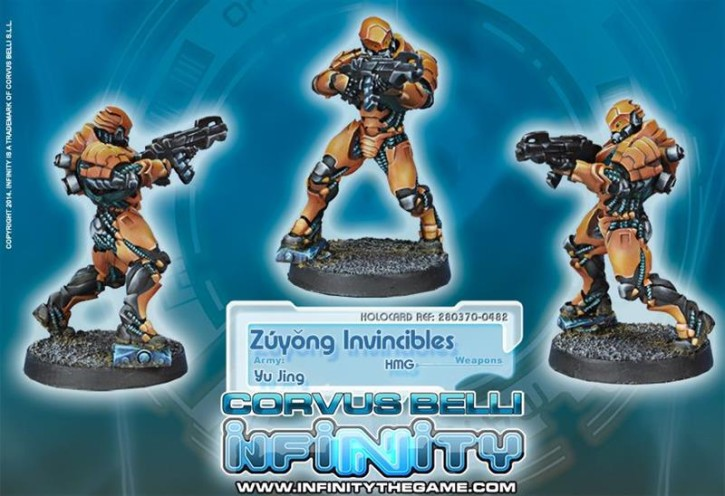 INFINITY: Zuyong Invincibles, Terra-cotta Soldiers