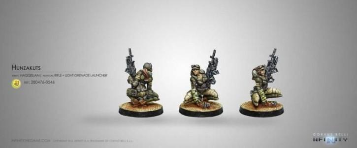 INFINITY: Hunzakuts (Rifle+Light Grenade Launcher)