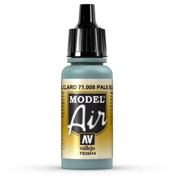 Vallejo Model Air: 008 Pale Blue 17ml (71008)