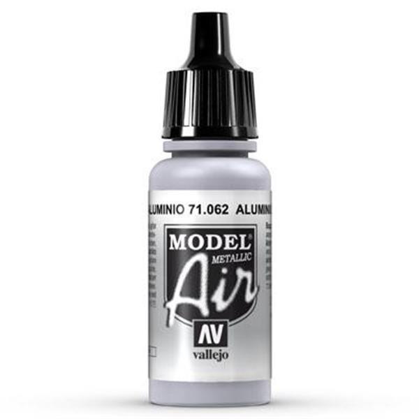 Vallejo Model Air: 062 Aluminium 17ml (71062)