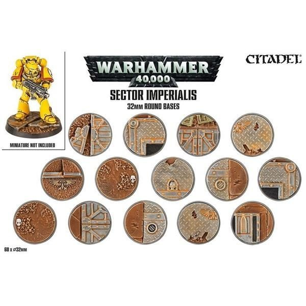 Sector Imperialis: Rundbases (32 mm)
