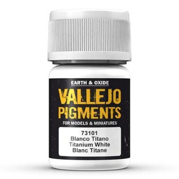 Vallejo Pigment: Titanium White 30ml