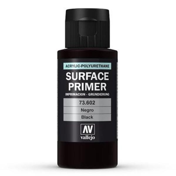 Vallejo Surface Primer: Black (60ml)