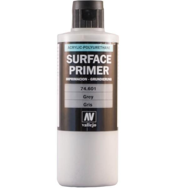 Vallejo Surface Primer: Grey (200ml)