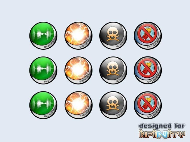 INFINITY: Tokens Deployables 1 (12)