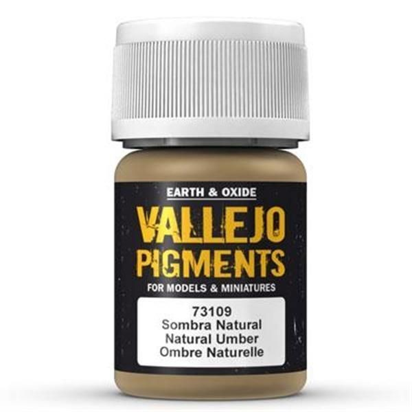 Vallejo Pigment: Natural Umber 30ml