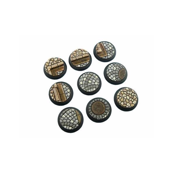 COBBLESTONE BASES: WRound 30mm (5)