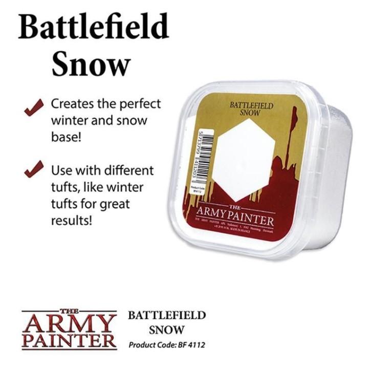ARMY PAINTER: Snow Flock 150 ml
