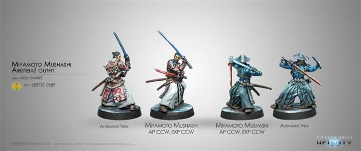 INFINITY: Miyamoto Musashi Aristeia! Outfit