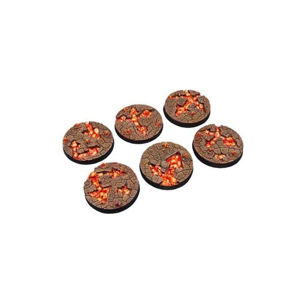 CHAOS WASTE BASES: Round 40mm (2)