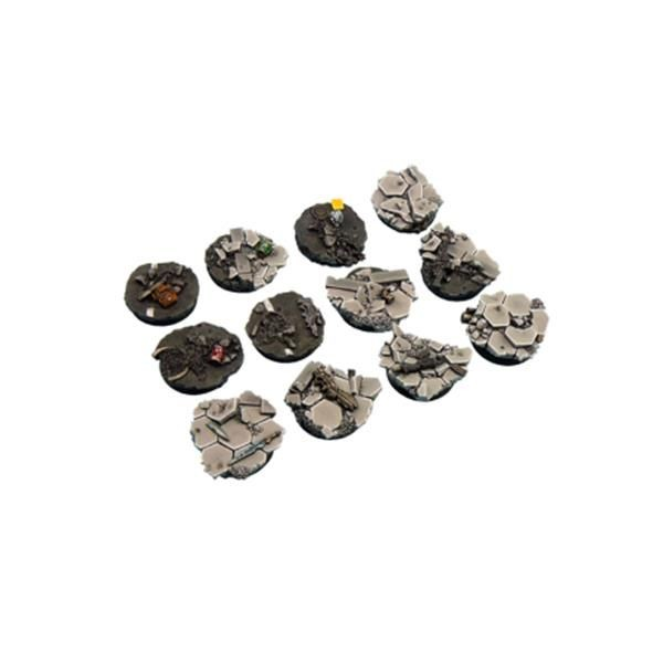 URBAN FIGHT BASES: Round 25mm (5)