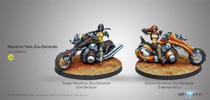 Infinity: The Nazarova Twins, Kum Enforcer