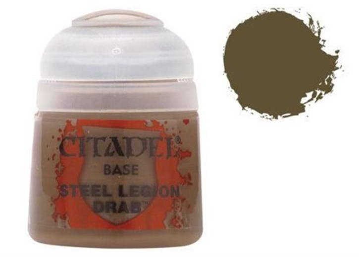 CITADEL BASE: Steel Legion Drab