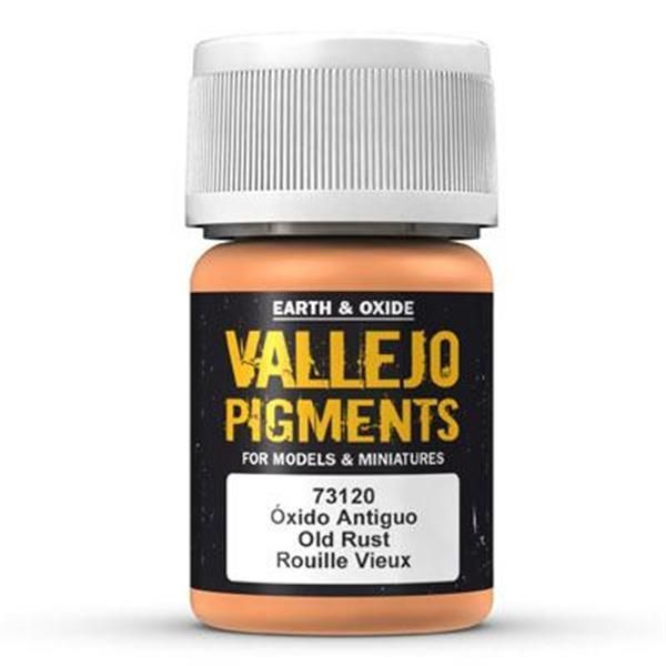 Vallejo Pigment: Old Rust 30ml
