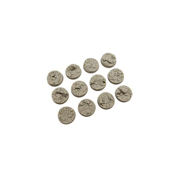 ANCIENT BASES: Round 25mm (5)