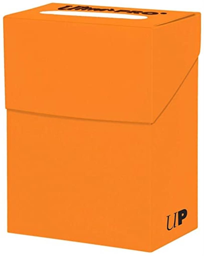 ULTRA PRO: Deck Box Pumpkin Orange