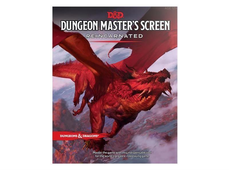 D&D RPG: Dungeon Masters Screen Reincarnated - EN