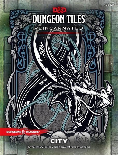 D&D RPG: Dungeon Tiles Reincarnated City