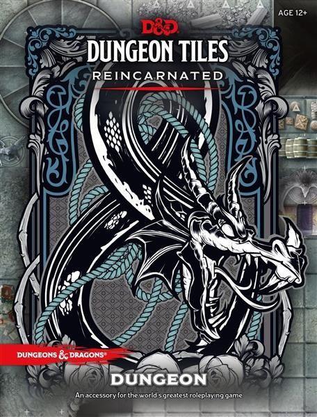 D&D RPG: Dungeon Tiles Reincarnated Dungeon