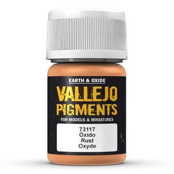 Vallejo Pigment: Rust 30ml
