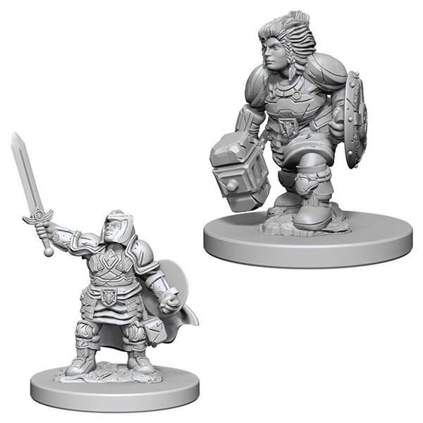 D&D MARVELOUS MINIS: Dwarf Female Paladin