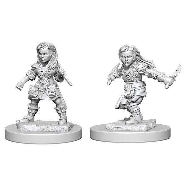 D&D MARVELOUS MINIS: Halfling Female Rogue
