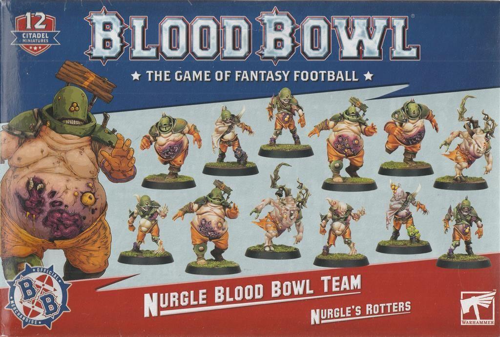 BLOOD BOWL: Nurgle Team