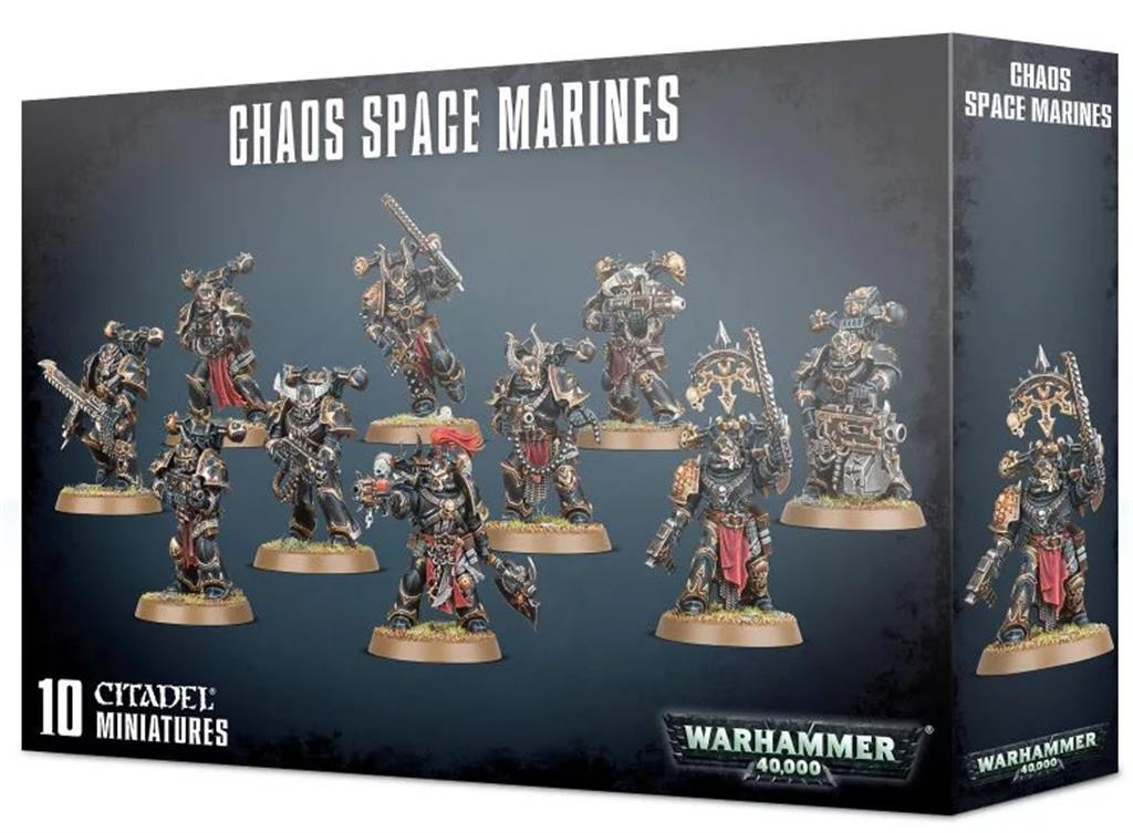 W40K: Chaos Space Marines