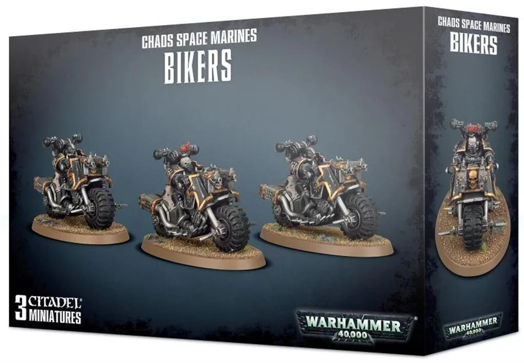 W40K: Chaos Space Marines Bikers