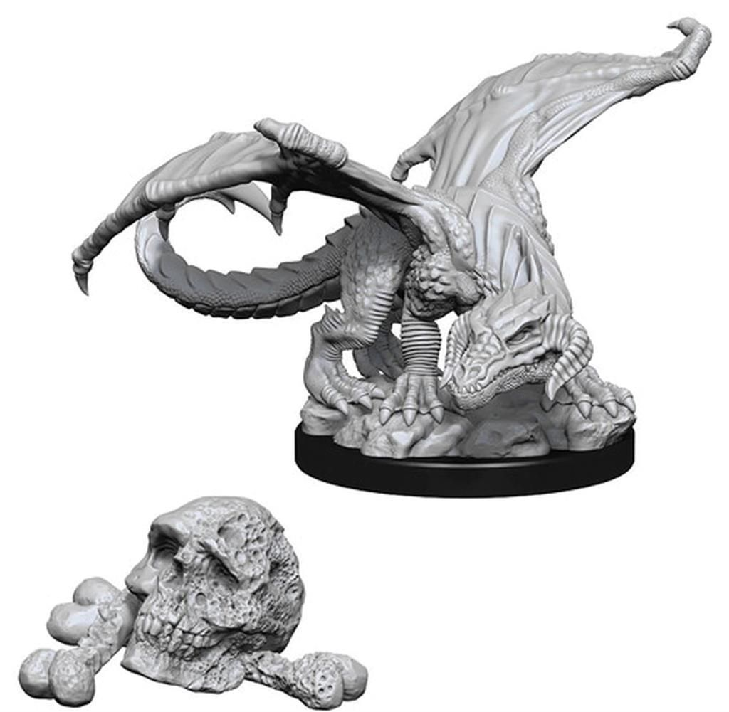 D&D MARVELOUS MINIS: Black Dragon Wyrmling