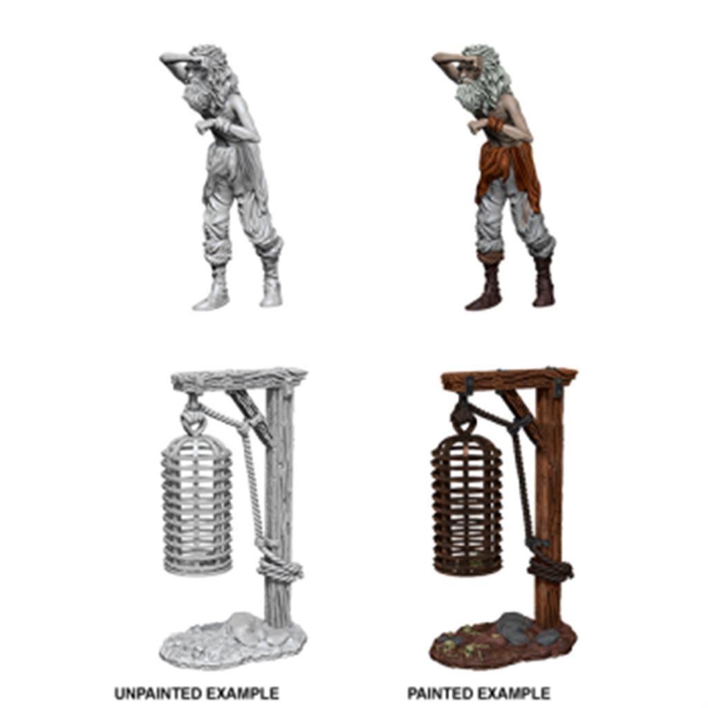 WIZKIDS DEEP CUTS MINIS: Hanging Cage