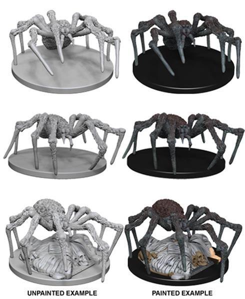 D&D MARVELOUS MINIS: Spiders