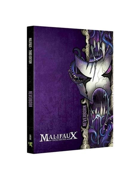 MALIFAUX 3RD: Neverborn Faction Book - EN
