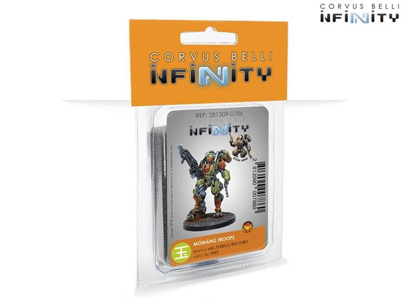 INFINITY: Mowang Troops (MULTI Rifle/ Red Fury)