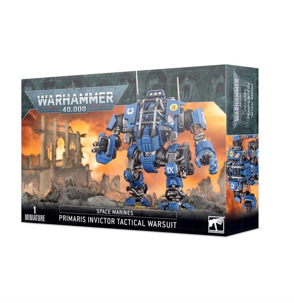 W40K: Primaris Invictor Tactical Warsuit