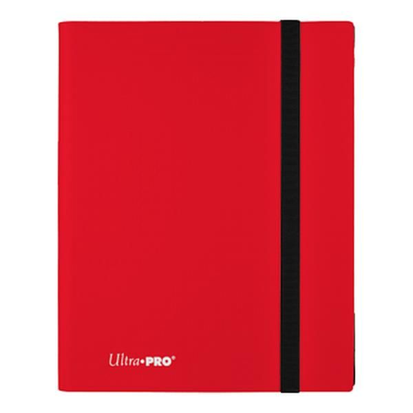 Ultra Pro 9 Pocket Pro Binder Eclipse Apple Red 15146