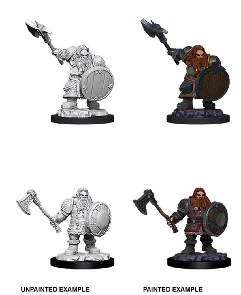 D&D MARVELOUS MINIS: Male Dwarf Fighter