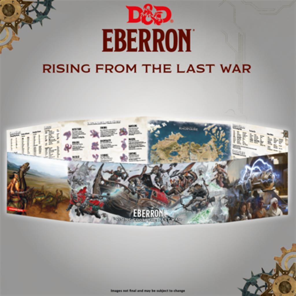 D&D RPG: Eberron - DM Screen - EN