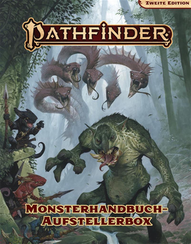 PATHFINDER 2ND: Monsteraufstellerbox - DE