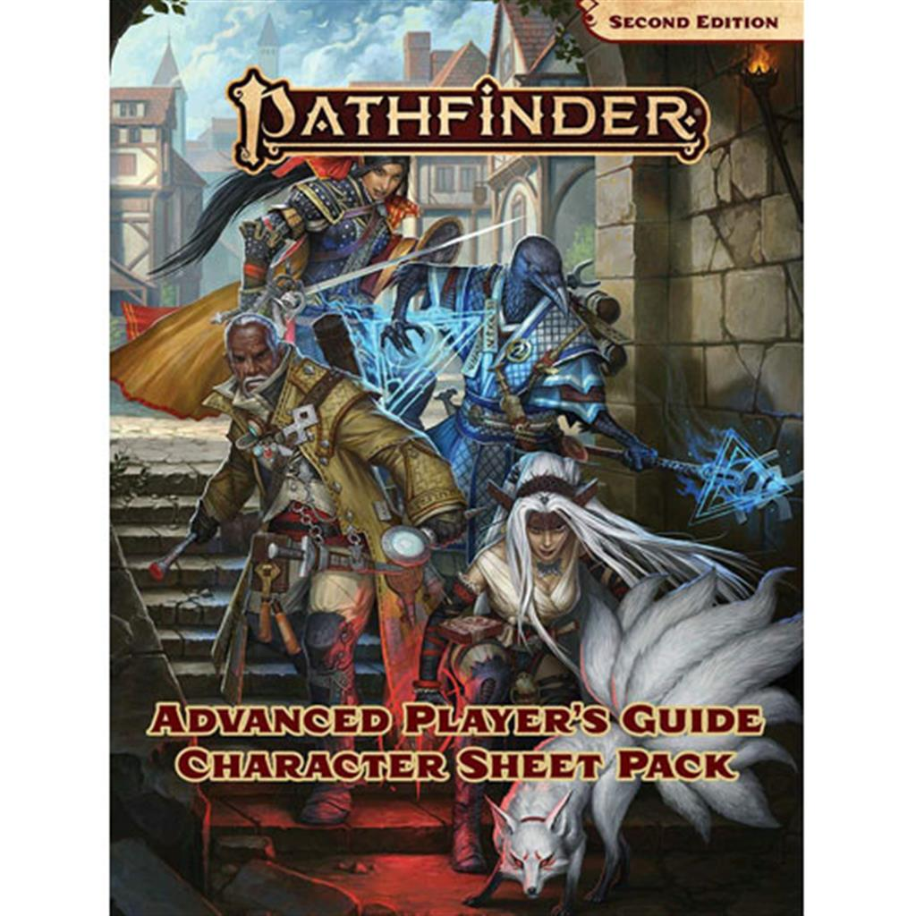 PATHFINDER 2ND: Advanced Players Character Sheet Pack - EN