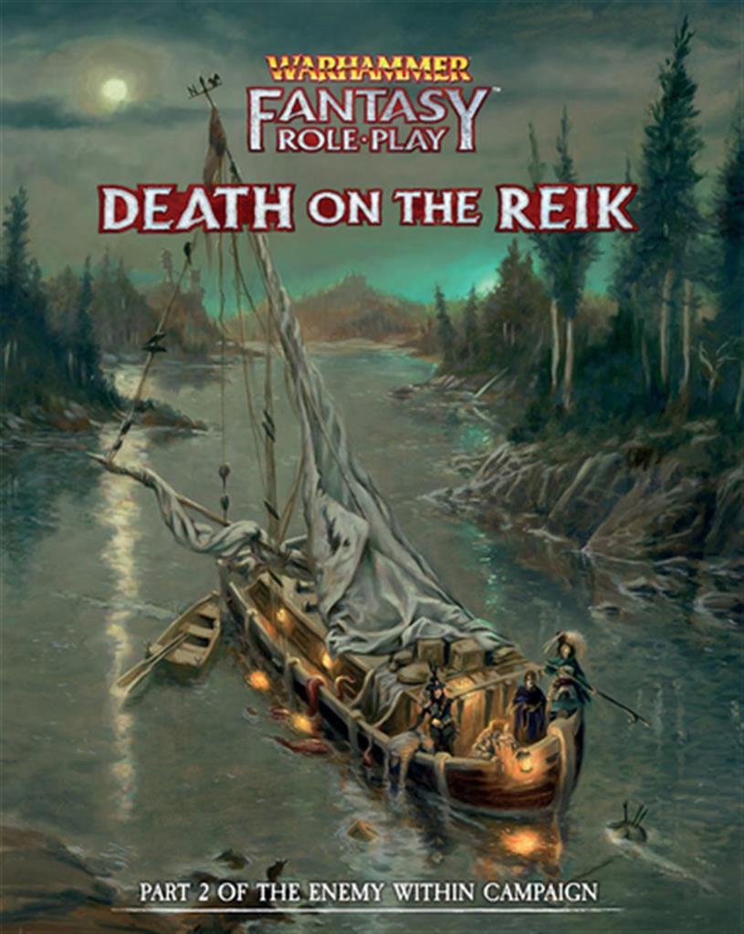 WFRP 4TH: Death on the Reik: Enemy Within Campaign Vol2 - EN