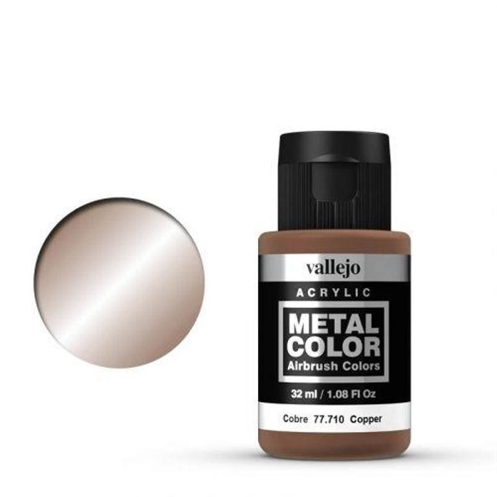 VALLEJO METAL COLOR: 710 Kupfer 32 ml