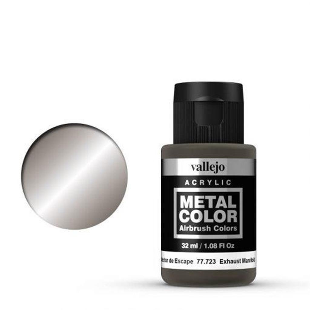 VALLEJO METAL COLOR: 723 Auspuffkrümmer 32 ml