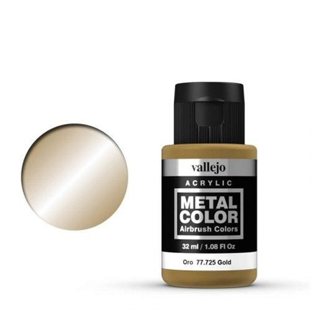 VALLEJO METAL COLOR: 725 Gold 32 ml