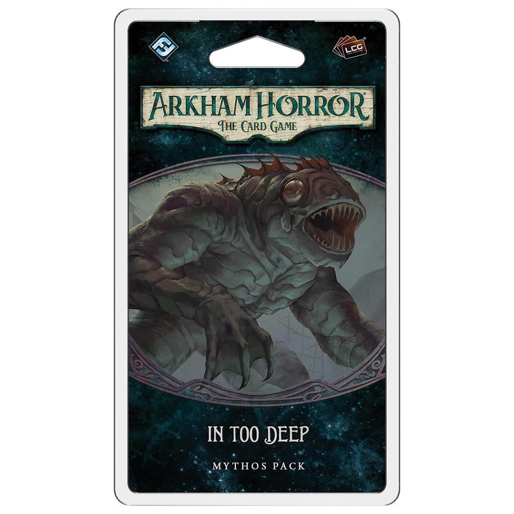 ARKHAM HORROR LCG: In Too Deep - EN