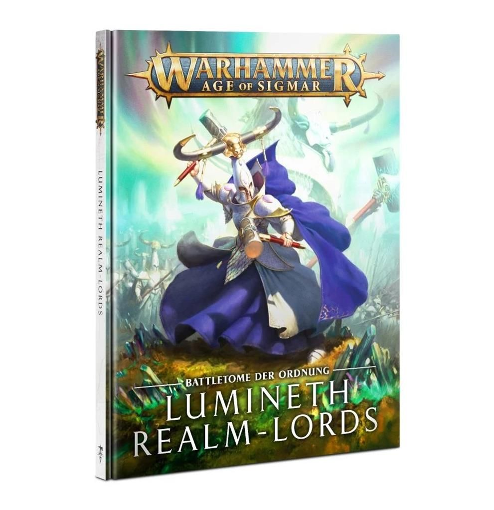 AOS: Battletome: Lumineth Realm Lords (HB) - DE